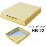 HB22 STRAFORLU STANDART KOVAN KAPAK